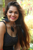 Aswini in lovely Deep Neck Sleeveless Black Dress Spicy Pics ~  Exclusive 15.JPG
