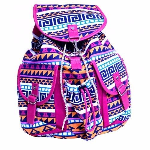 b5d31f5b7 As mochilas estampadas são muito lindas, deixam nosso look muito mais  alegre, além de combinarem com o seu estilo!