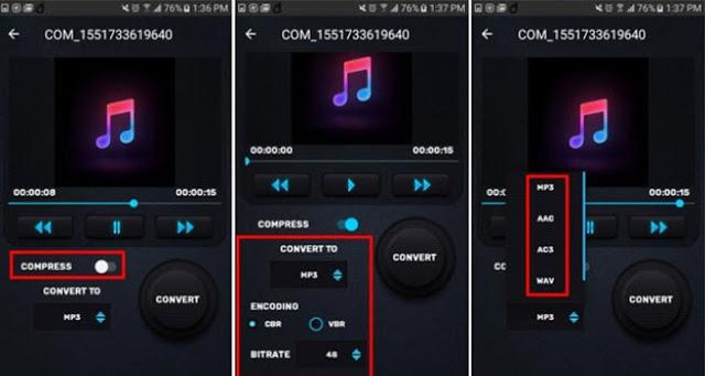 كيفية ضغط ملفات الصوت الكبيرة لإرسالها في واتساب بدون مشاكل