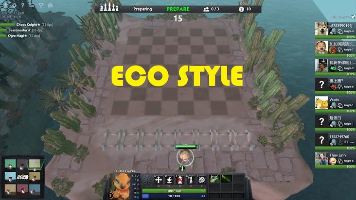 """[Dota 2] Cùng leo rank bằng chiến thuật Eco """"trắng"""" trong Auto Chess"""