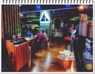Hansome Monk Coffee impresii meniu cafenele bucuresti calea victoriei