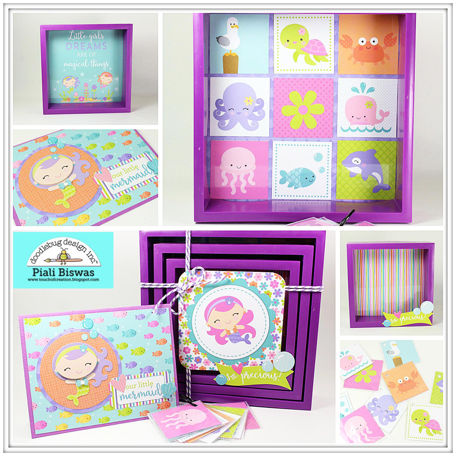 Doodlebug Design Inc Blog Under the Sea Collection Little Girl