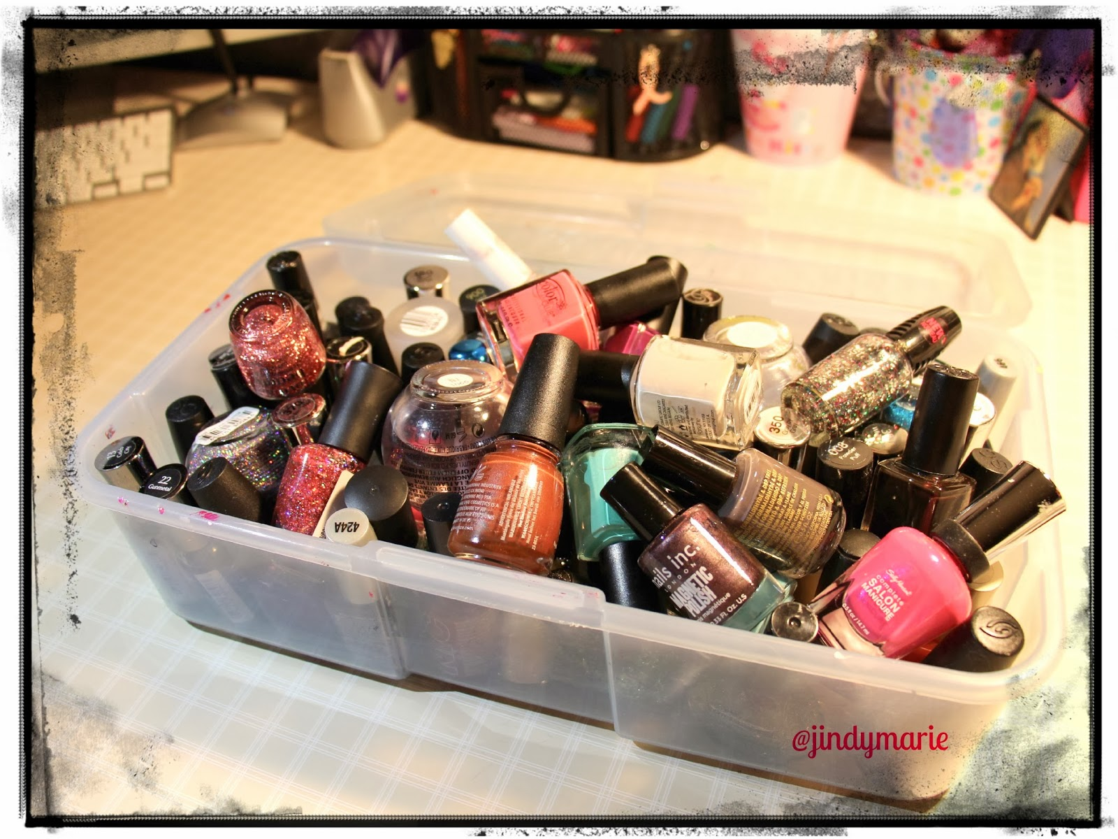 How To Organize Your Nail Polishes January 5th