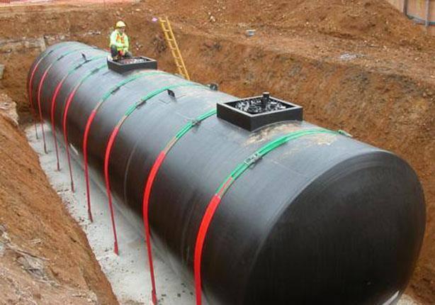 شبكة المهندس خطوات تنفيذ خزان محطه البنزين