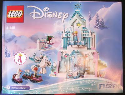 Инструкция Lego Elsa's Ice Palace 41148