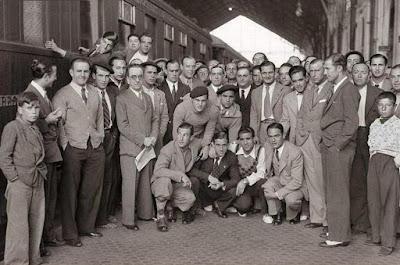 La selección española de fútbol de 1935