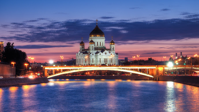 Wallpaper: Cathedral of Christ the Saviour Moscow