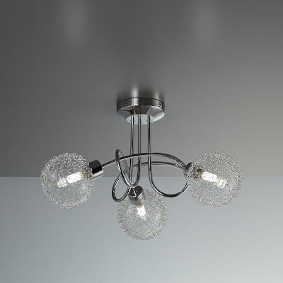 - Lámpara LED de techo lámpara de techo lámpara de techo lámpara de techo lámpara de techo LED G9 de salón de LED lámpara de techo de salón de LED de techo Foco de lámpara LED de lámpara de salón salón salón Piso de 3 focos ( [Clase de eficiencia energética A+]