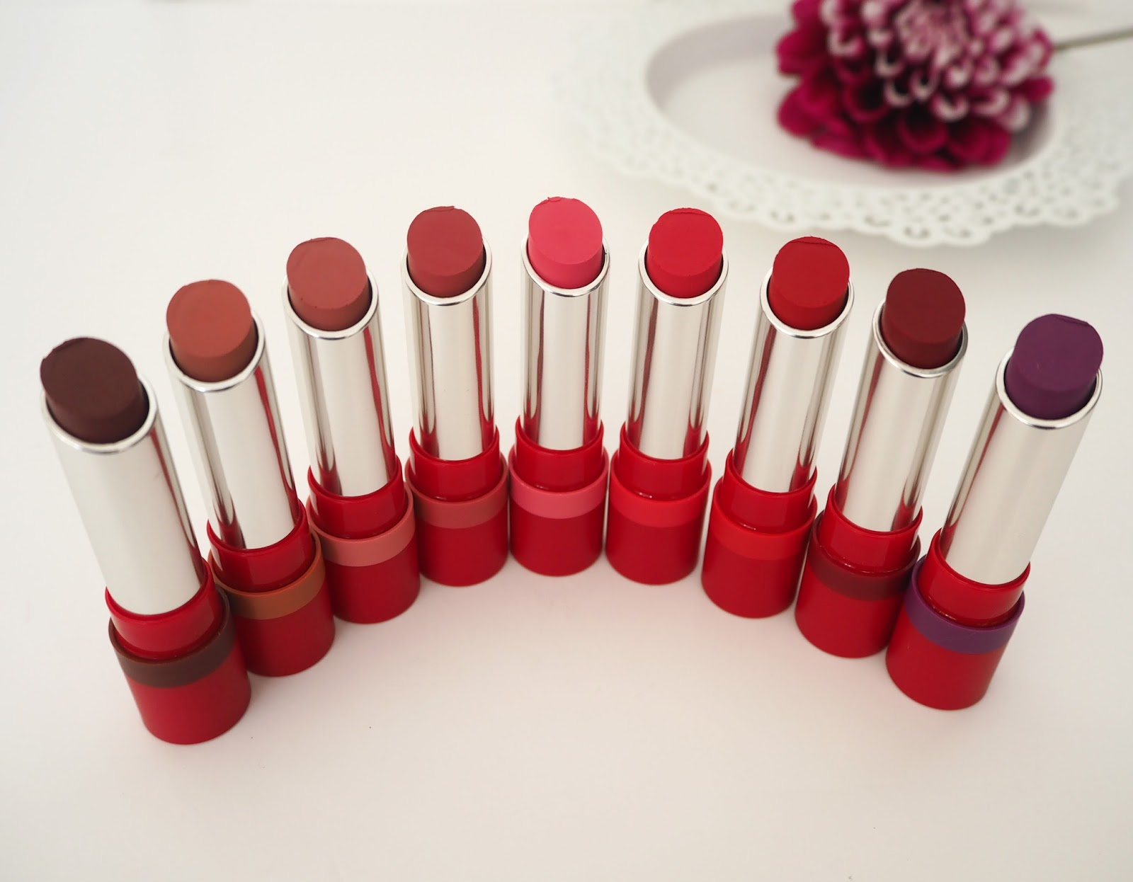 Rimmel The Only 1 Matte Lipstick Collection