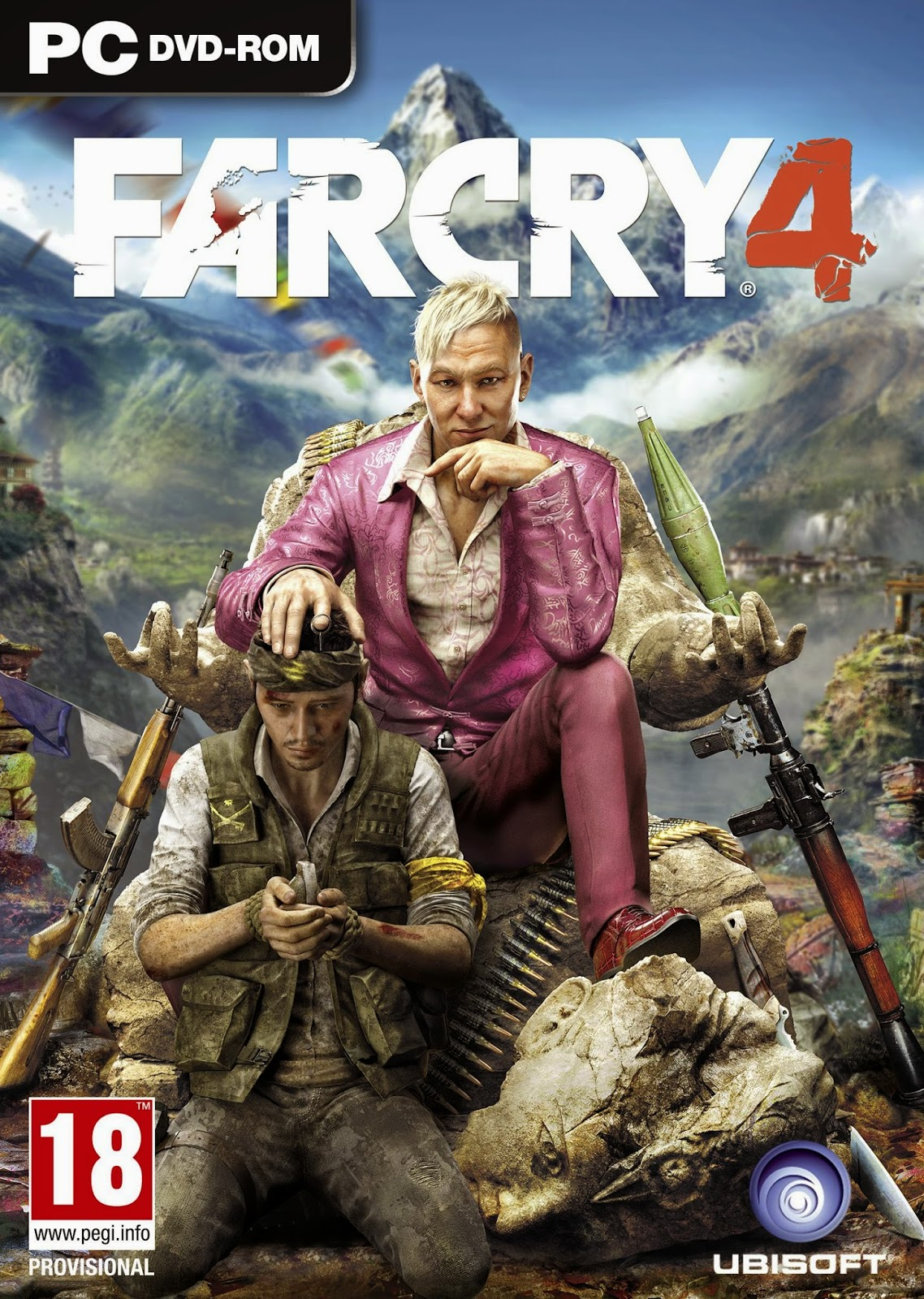 Far Cry 4 PC Cover Caratula