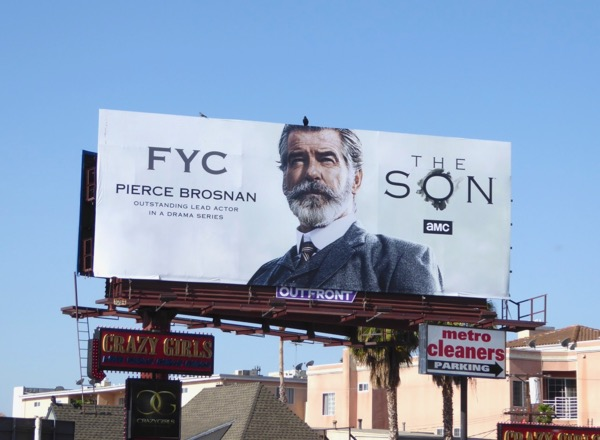 Pierce Brosnan The Son 2017 Emmy FYC billboard