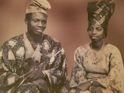 Throwback Thursday pix of Daddy and Mummy GO