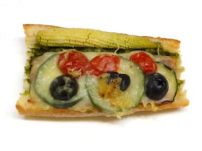 ベーコンと彩り野菜のタルティーヌ | 箱根ベーカリー