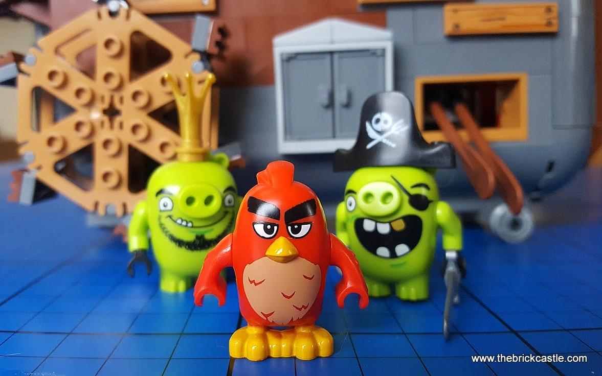 The Brick Castle Lego The Angry Birds Movie Piggy Pirate Ship Set