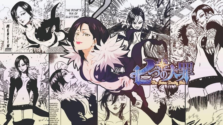 Merlin, [Nanatsu no Taizai], Manga, 4K, #4.1227