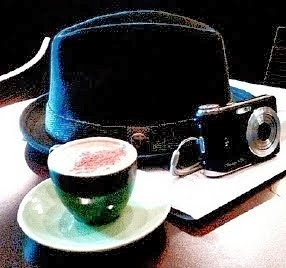 Expresso, Hat and Camera