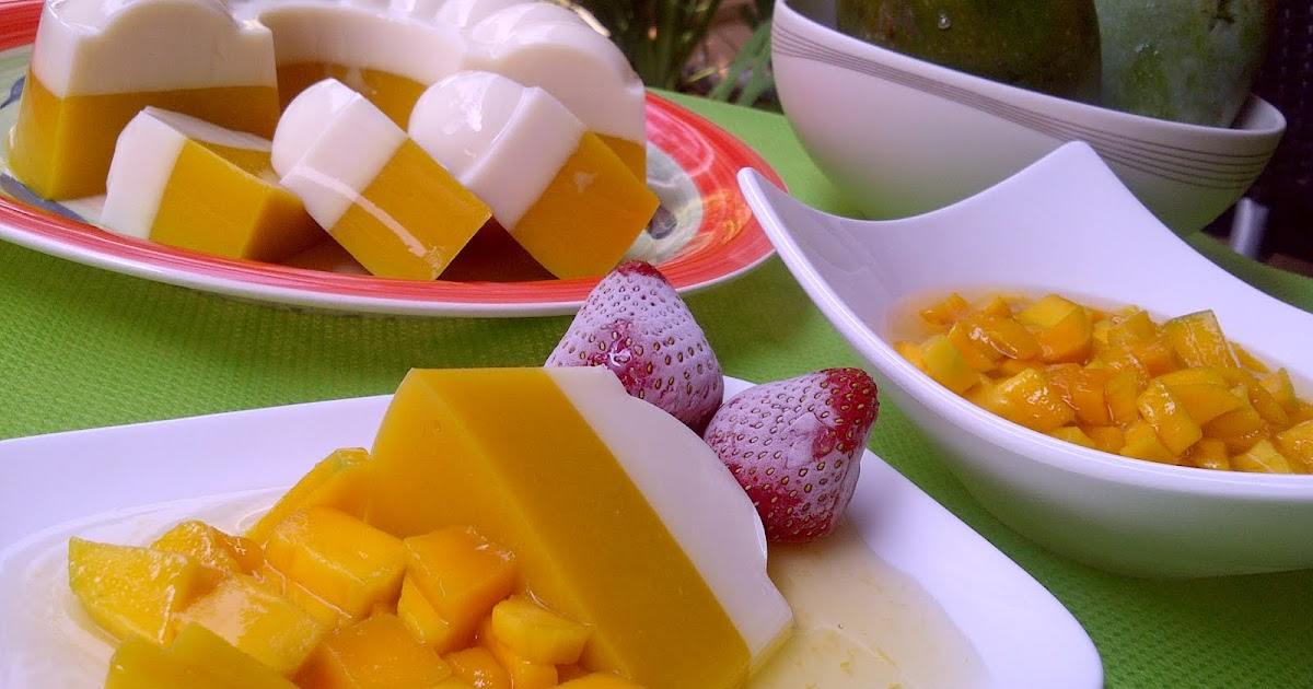 Resep Cake Pisang Ncc Fatmah Bahalwan: Dapurnya Ayu: Puding Mangga
