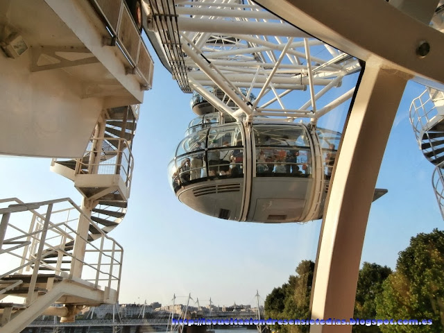 Cabina de la atracción del London Eye
