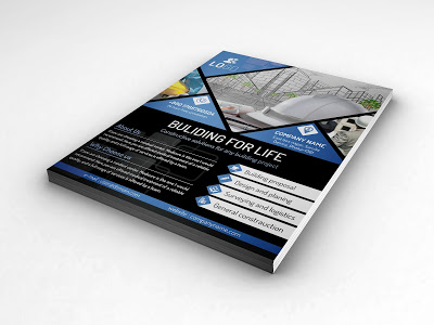 10 High Quality Free Photoshop PSD A4 Flyer/Poster Mockups