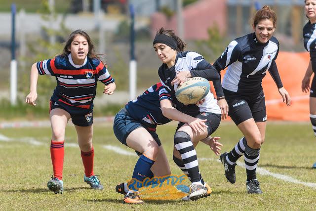 La URTF realizó el primer evento de rugby femenino oficial