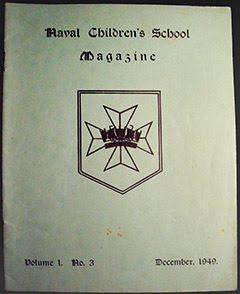 Naval Children's School - 1949 Mag.