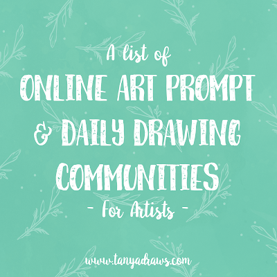 Art Prompts & Daily Drawing Communities for Artists