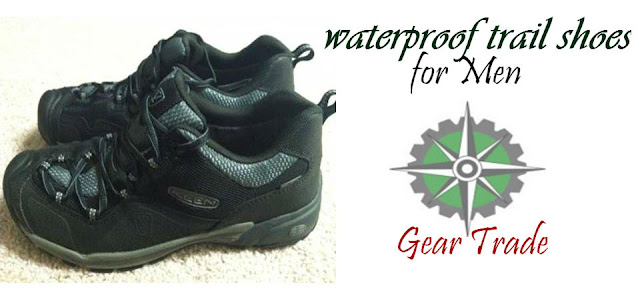 men's waterproof trail shoes