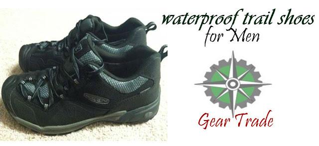 men's waterproof trail shoes