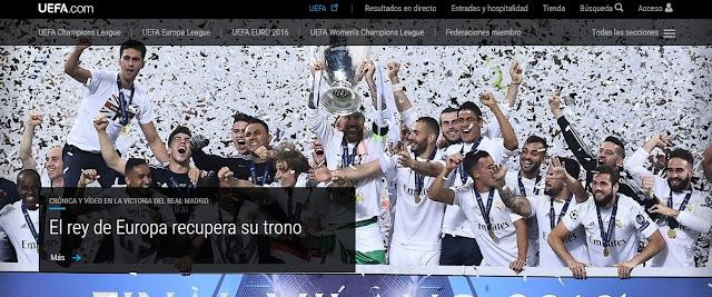 Real Madrid Campeón de Europa por 11ª vez - San Siro Real Madrid 1-1 Atlético de Madrid - Foto vía uefa.com - Álvaro García - ÁlvaroGP - el troblogdita