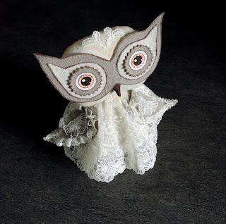 сова с большими глазами