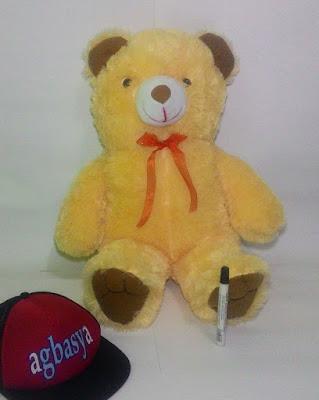 Boneka Beruang Teddy Bear XL Krem