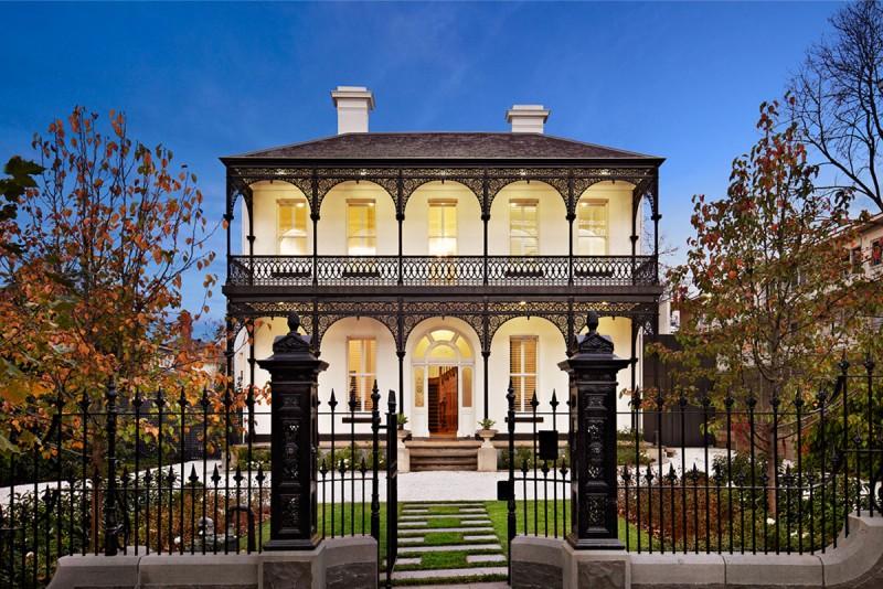 Hogares frescos amplia casa victoriana reformada en south - New home designs melbourne victoria ...