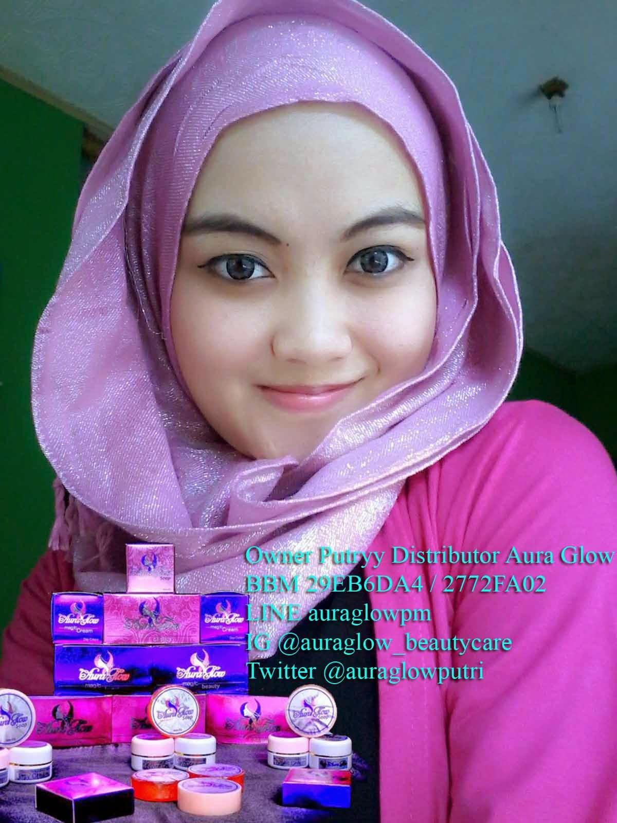 Cream Pemutih Wajah Yang Aman Dan BerBPOM Aura Glow | Tips ...