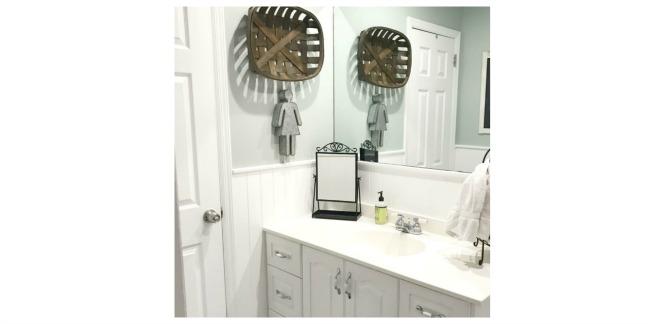 A Neutral Bathroom Makeover