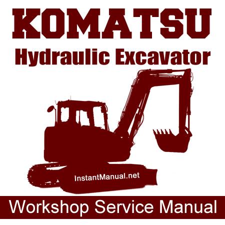 Workshop Service Manual PDF: Komatsu PC100-6 PC100L-6
