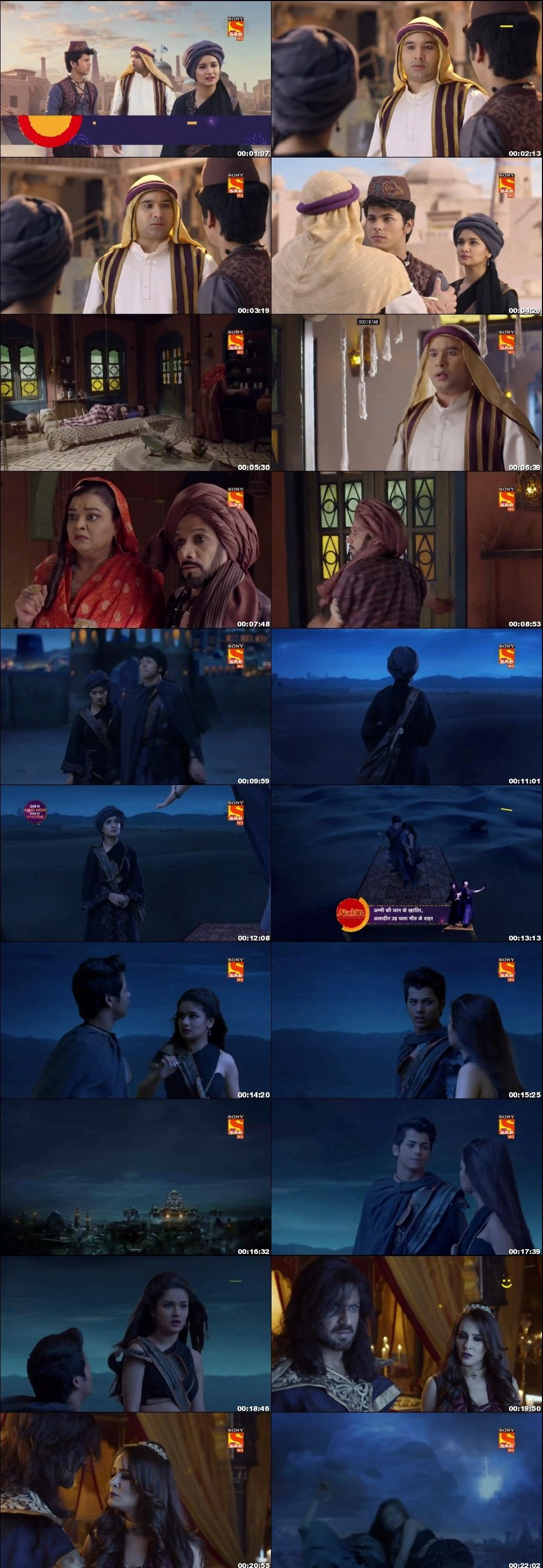 Screenshots Of Hindi Show Aladdin – Naam Toh Suna Hoga 2018 Episode 59 300MB 720P HD