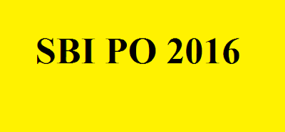 sbi po 2016 application
