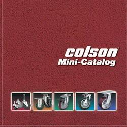 Catalog bánh xe đẩy Colson tải 600kg - 2035kg/bánh www.banhxedayhang.net