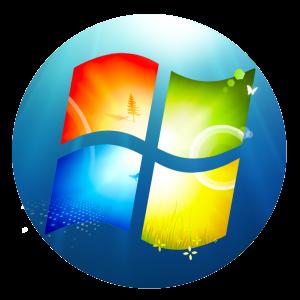 Windows 7 Logo Icon โหลด Windows 7...