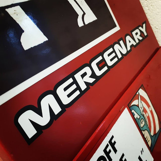 Mercenary Sticker