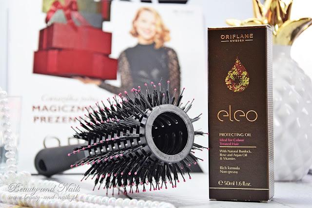 Ochronny olejek do włosów Eleo, szczotka do włosów + konkurs!