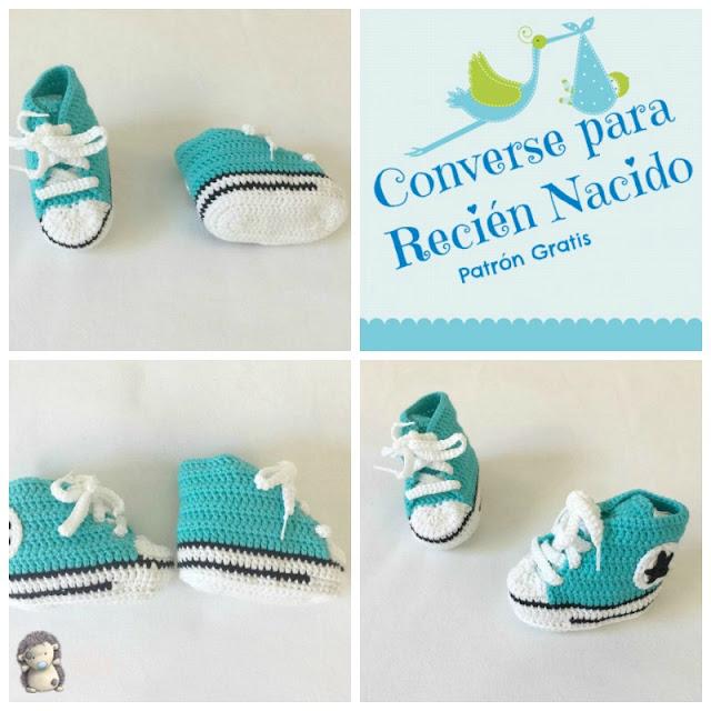 Converse para recién nacido