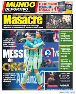 portada Mundo Deportivo 11 12 2016