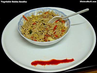vegetable+hakka+noodles