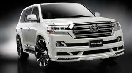 New Toyota Land Cruiser 2018