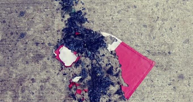 Queman banderas dominicana y boricua en calle de Harlem; piden clasificar agresión crimen de odio