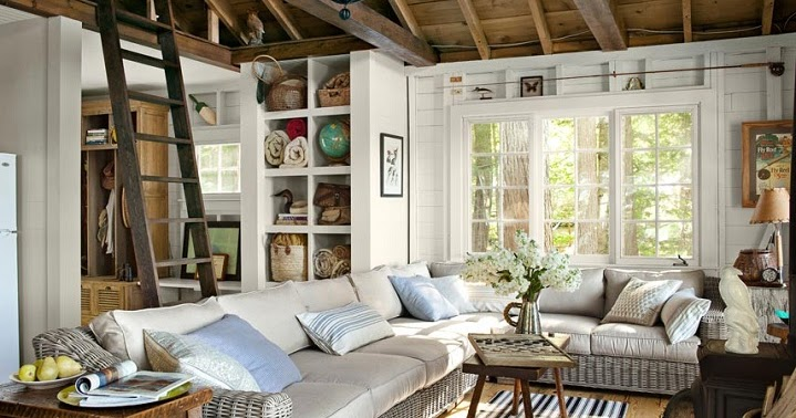 Mix And Chic: Home Tour- A Charming New Hampshire Cabin