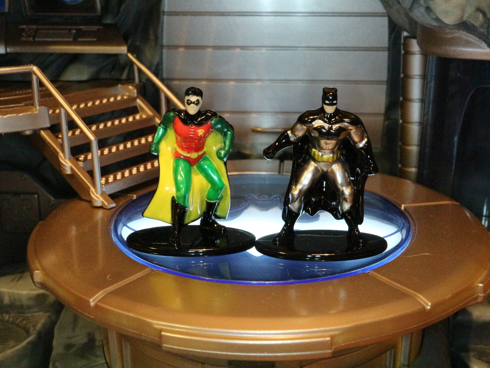 Batman Nano Metalfigs Batcave Nano Scene Environment
