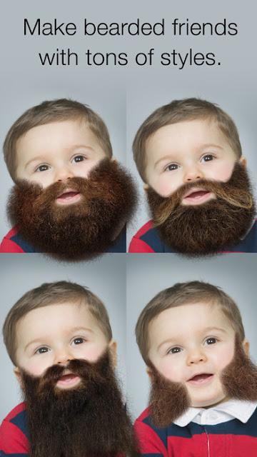 Aplikasi Brewok iOS Beardify - Beard Photo Booth