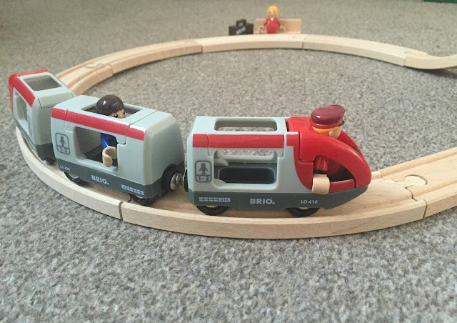 Brio Train and play people